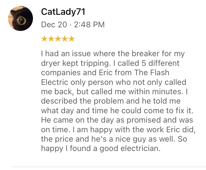 Watkinsville Breaker replacement Review