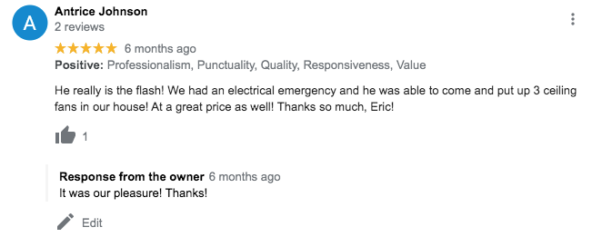 review for the flash electric